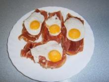 jamon con juevos