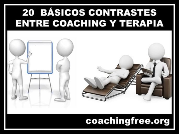 constraste entre coaching y terapia