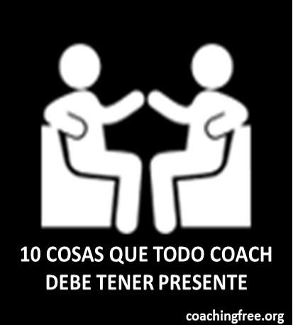 10 cosas que todo coach